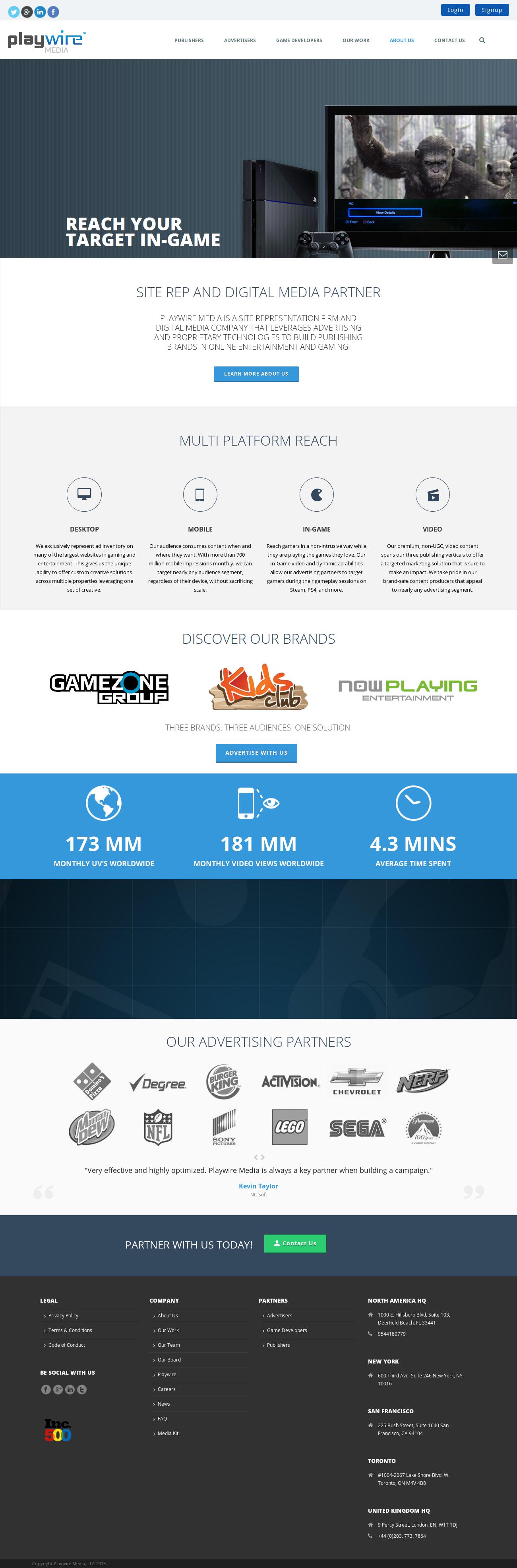 Intergi Website