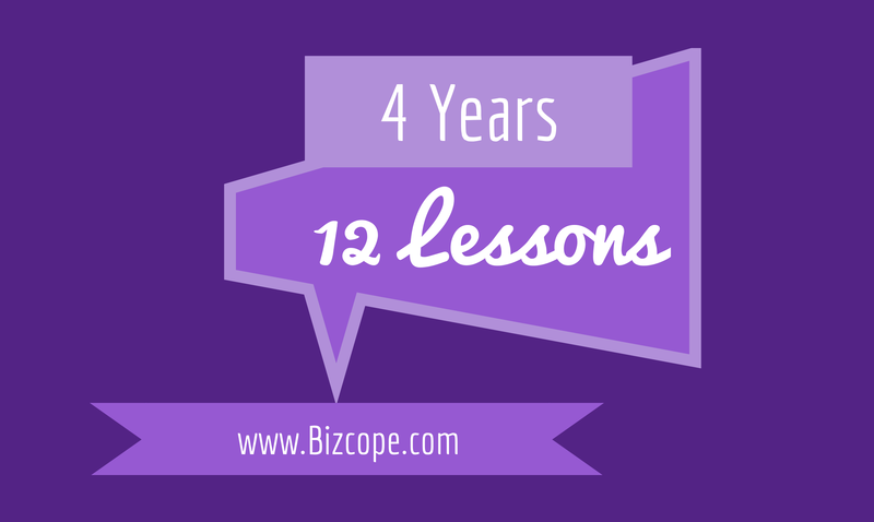 12 Lessons after 4 Years of Business 3