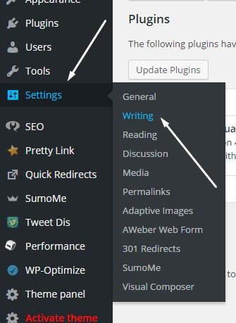 Wordpress Auto Ping