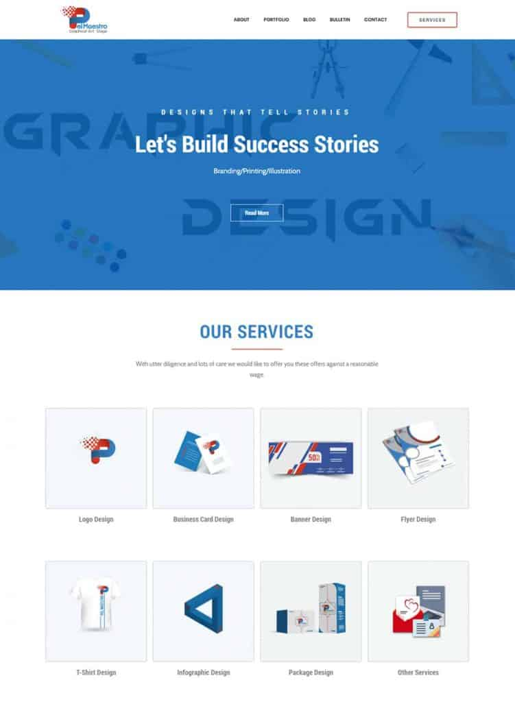 Web Design - Our Work 1