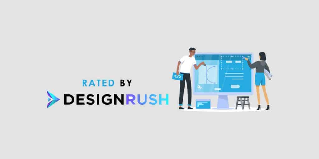 Rated by Designrush.