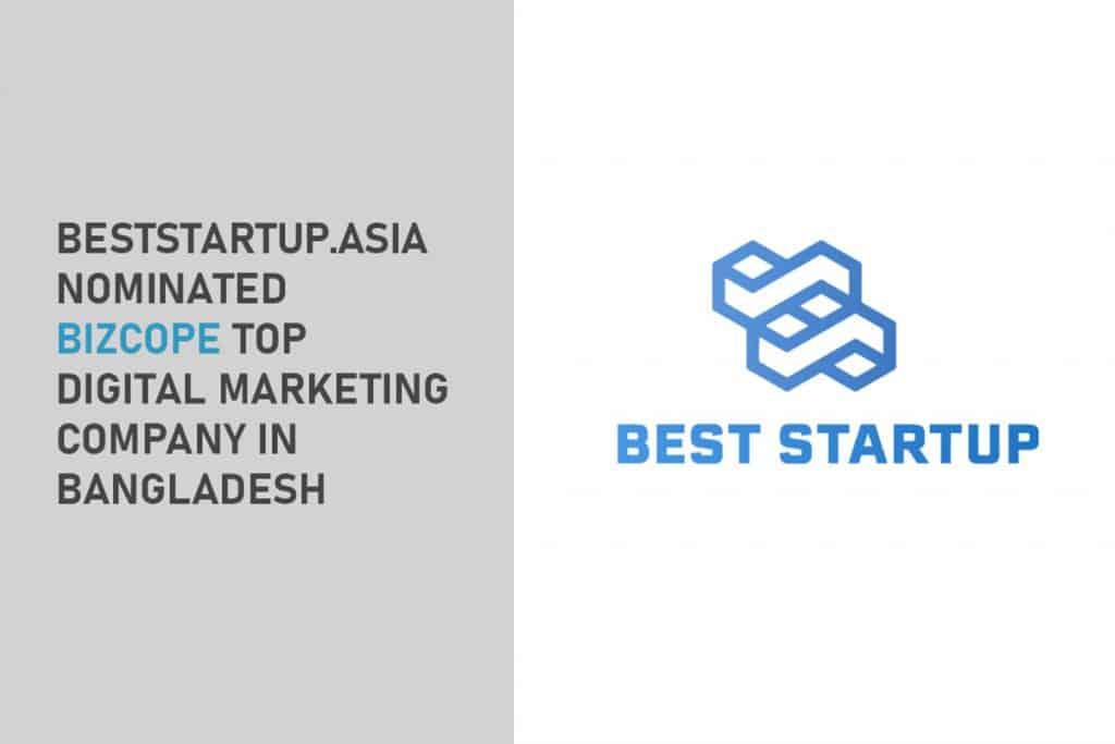 BestStartup.asia Nominated Bizcope Top Web Development Company in Bangladesh 1